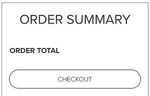 Order summary with price
