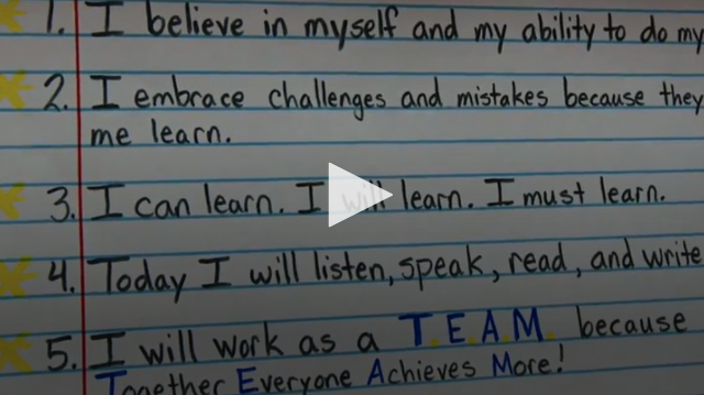 VIDEO:Ready to Learn: Creating a Positive Classroom Culture