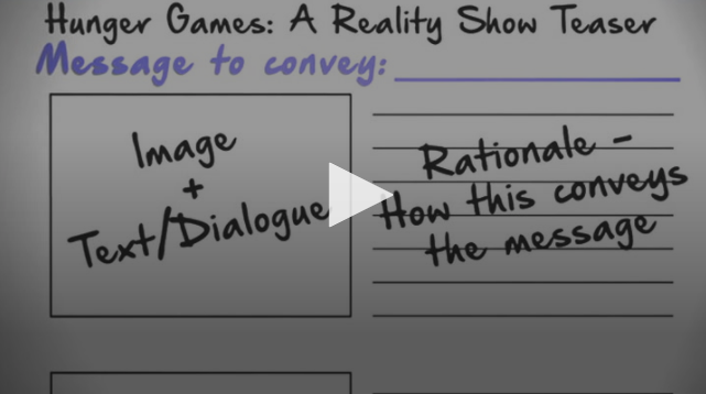 VIDEO:Analyzing Texts with Storyboards