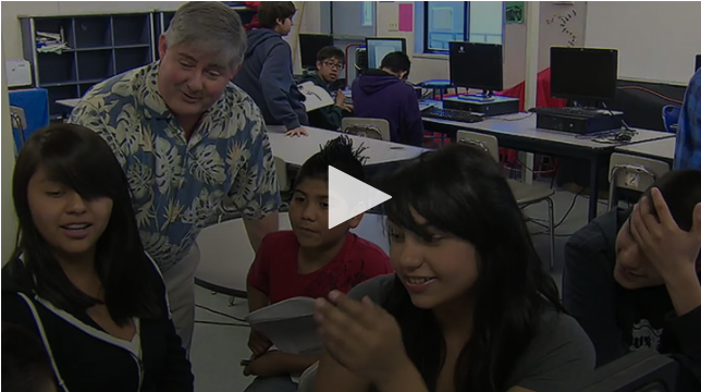 VIDEO:Building Relationships: Share Passion with Students