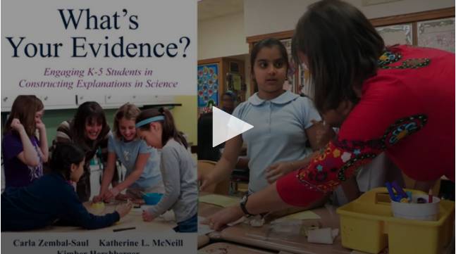 VIDEO: Claims, Evidence, & Reasoning: Planning
