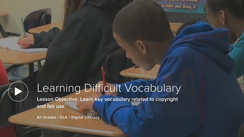 Learning Difficult Vocabulary