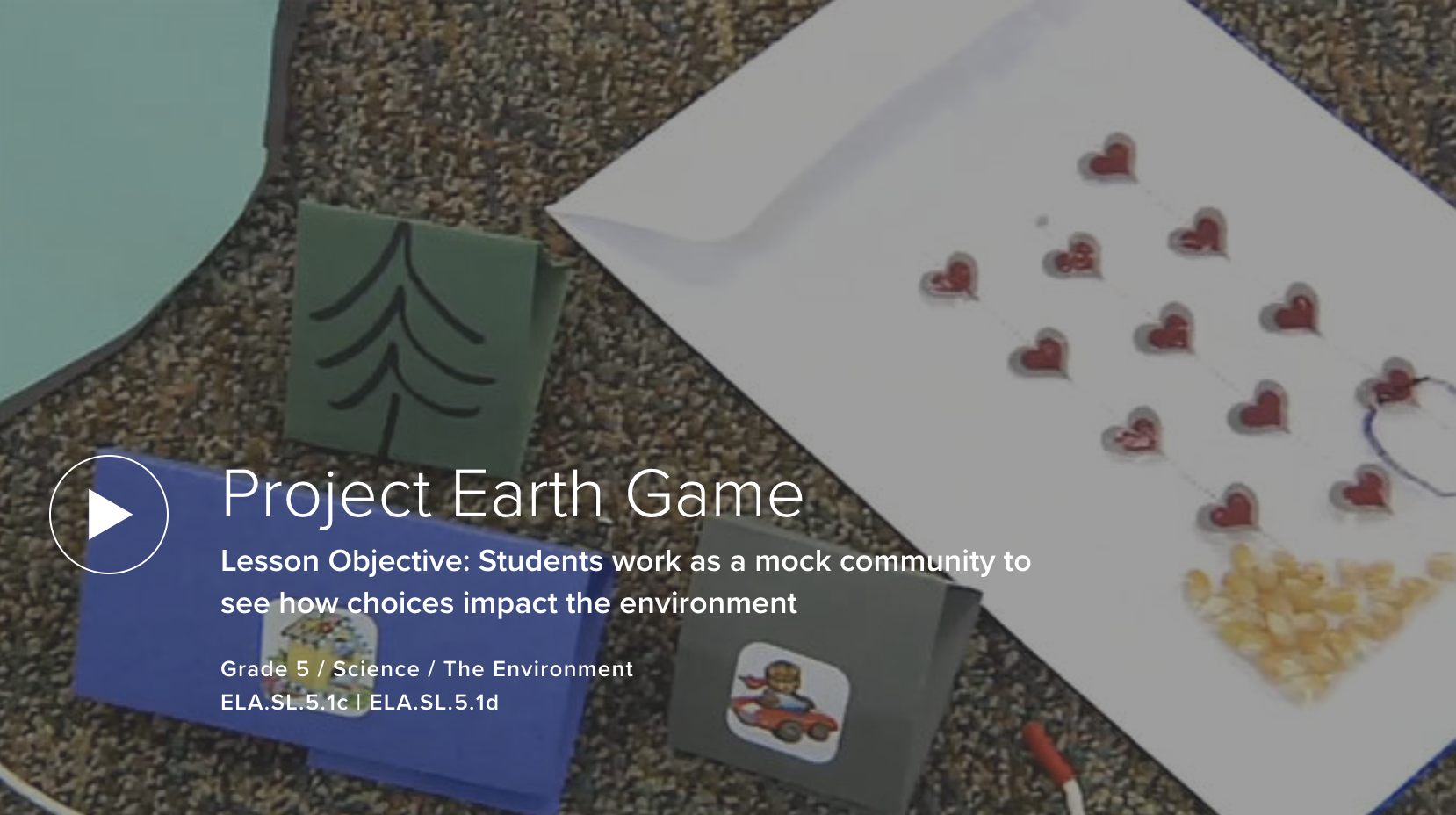 VIDEO: Project Earth Game