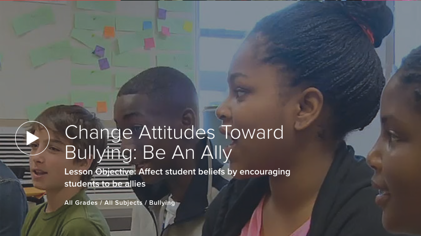 Change Attitudes Toward Bullying: Be An Ally