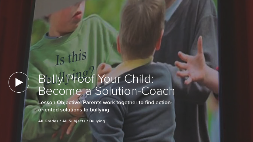 Bully Proof Your Child: Become a Solution-Coach