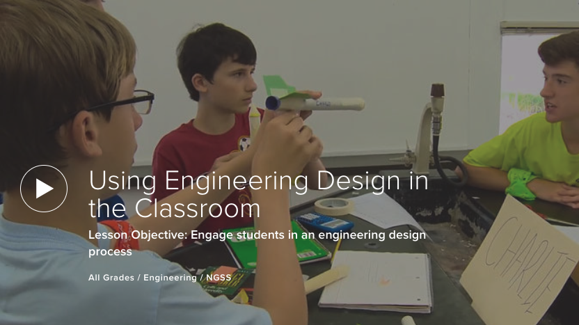 Using Engineering Design in the Classroom