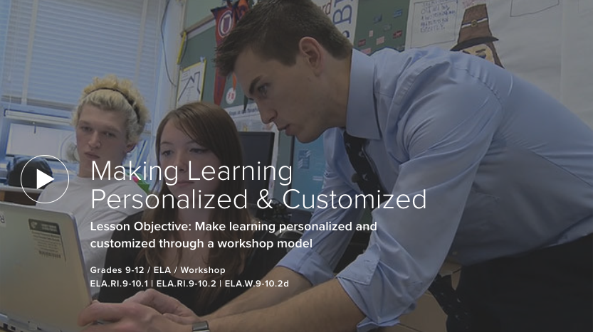 Making Learning Personalized & Customized