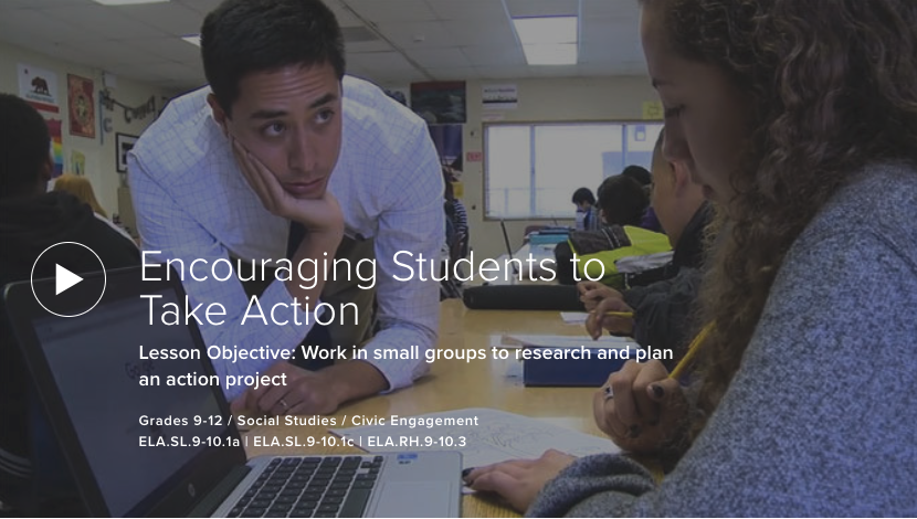 Encouraging Students to Take Action