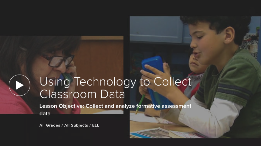 Using Technology to Collect Classroom Data