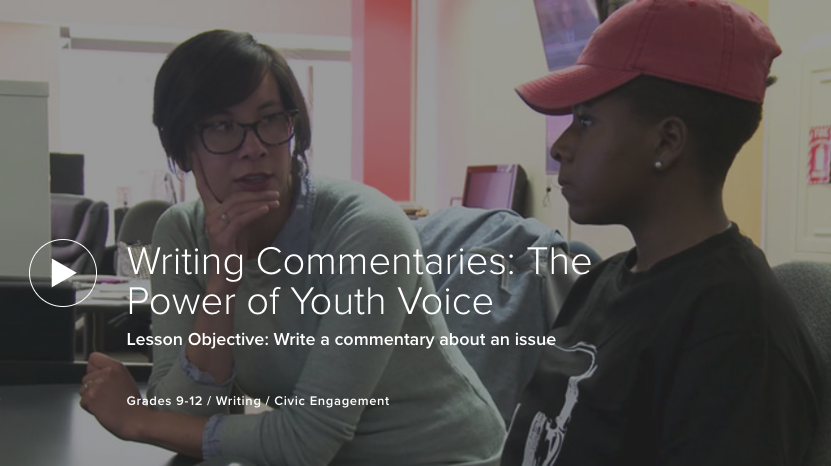 Writing Commentaries: The Power of Youth Voice