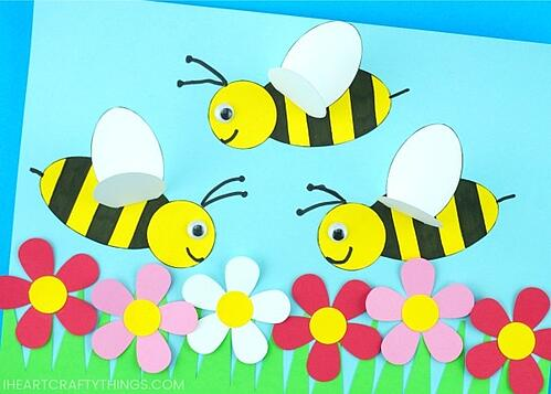paper-bee-craft-5x7